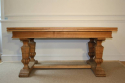 Wooden parquet extending dining table. French - picture 4