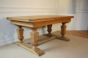 Wooden parquet extending dining table. French - picture 5