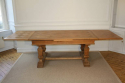 Wooden parquet extending dining table. French - picture 6