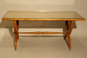 Vintage French 1950`s Sycamore coffee/side table. - picture 1