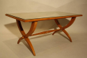 Vintage French 1950`s Sycamore coffee/side table. - picture 2