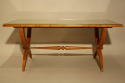 Vintage French 1950`s Sycamore coffee/side table. - picture 4
