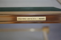 A lucite framed and glass two tier coffee table - picture 3