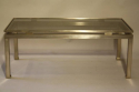 Guy lefevre for Maison Jansen - a brush steel rectangular coffee table. French c1960 - picture 5