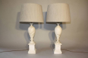 French 1960`s marble table lamps - picture 3