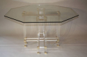 Pierre Vandel octagonal dining table - picture 1
