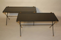 A Pair of 1950`s Vitrolite Glass Tables - picture 1