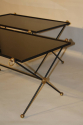 A Pair of 1950`s Vitrolite Glass Tables - picture 2