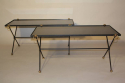 A Pair of 1950`s Vitrolite Glass Tables - picture 3