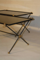 A Pair of 1950`s Vitrolite Glass Tables - picture 4