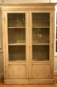 Antique French late C19th painted bookcase/cabinet. - picture 1