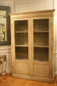 Antique French late C19th painted bookcase/cabinet. - picture 2