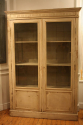 Antique French late C19th painted bookcase/cabinet. - picture 3