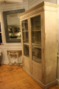 Antique French late C19th painted bookcase/cabinet. - picture 6