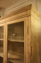 Antique French late C19th painted bookcase/cabinet. - picture 7
