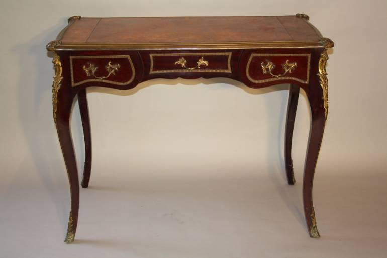 French Louis XV style bureau. French c1920