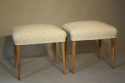 Walnut and spotty stools - picture 2
