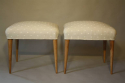 Walnut and spotty stools - picture 4