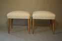 Walnut and spotty stools - picture 5