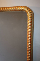 C19th rope twist arch top overmantle - picture 2