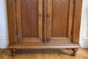 Narrow Dutch Oak cabinet - picture 6