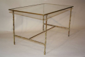 Metal bamboo coffee table - picture 1