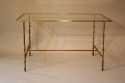 Metal bamboo coffee table - picture 4