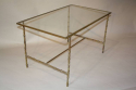 Metal bamboo coffee table - picture 6