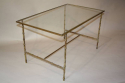 Metal bamboo coffee table - picture 7