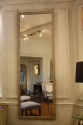 Single tall painted Oak mirror - picture 2