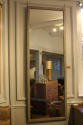 Single tall painted Oak mirror - picture 4