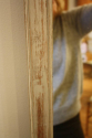 Single tall painted Oak mirror - picture 7