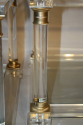 Pair of lucite two tier end tables - picture 2