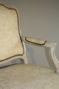 French antique pair of late C19th fauteuils - picture 4