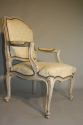 French antique pair of late C19th fauteuils - picture 7