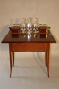 Mappin & Webb inlaid fold away drinks cabinet, c1910 - picture 1