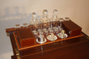 Mappin & Webb inlaid fold away drinks cabinet, c1910 - picture 2