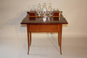 Mappin & Webb inlaid fold away drinks cabinet, c1910 - picture 7