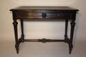 Ebonised French Napoleon III desk, c1860 - picture 1