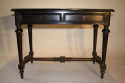 Ebonised French Napoleon III desk, c1860 - picture 4
