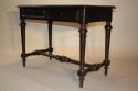 Ebonised French Napoleon III desk, c1860 - picture 5