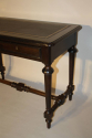 Ebonised French Napoleon III desk, c1860 - picture 7