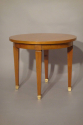A small beechwood occasional table, attributed to Jacques Adnet, French c1950 - picture 1