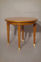 A small beechwood occasional table, attributed to Jacques Adnet, French c1950 - picture 2