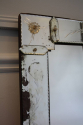 1920`s rectangular Venetian mirror with etched detail. - picture 3
