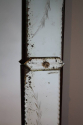 1920`s rectangular Venetian mirror with etched detail. - picture 5