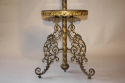 Antique French converted gas floor lamp, c1900 - picture 2