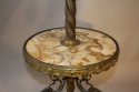 Antique French converted gas floor lamp, c1900 - picture 3