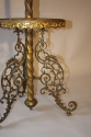 Antique French converted gas floor lamp, c1900 - picture 4