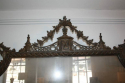 Carved wood and polychrome over mantle mirror - picture 5